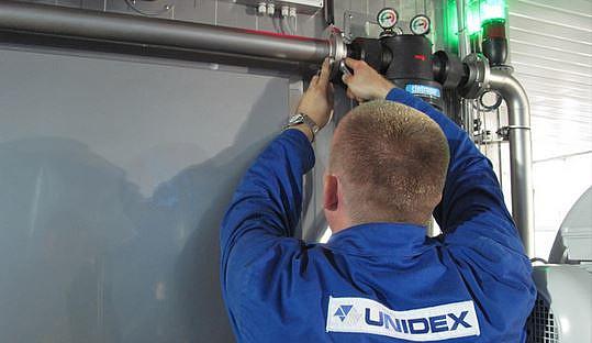 Serwis i modernizacja urządzeń Unidex
